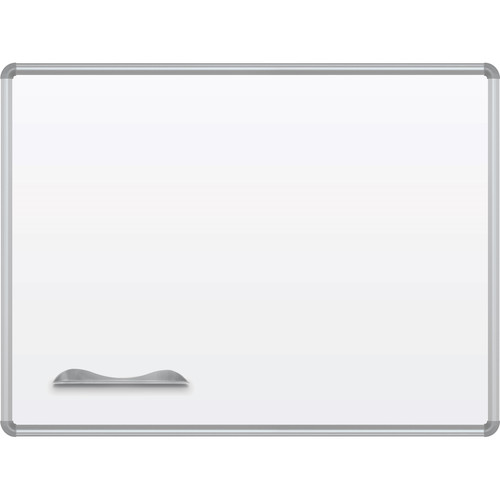 Best Rite Green-Rite Porcelain Markerboard with Silver Presidential Trim (3 x 4')