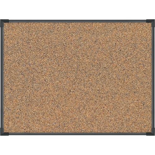 Best Rite Black Splash-Cork Tackboard with Ultra Trim (2 x 1.5')