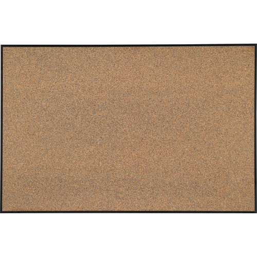 Best Rite Splash-Cork Tackboard with Ultra Trim (Black)