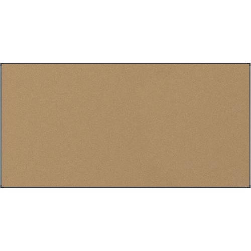 Best Rite Black Splash-Cork Tackboard with Aluminum Ultra Trim (4 x 8')