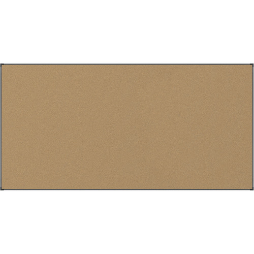 Best Rite Black Splash-Cork Tackboard with Aluminum Ultra Trim (4 x 8')