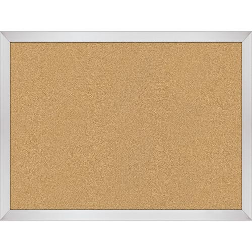 Best Rite VT Logic Natural Cork Surface Tackboard with Aluminum Trim (1.5 x 2')
