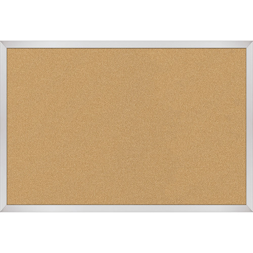 Best Rite VT Logic Natural Cork Surface Tackboard with Aluminum Trim (2 x 3')