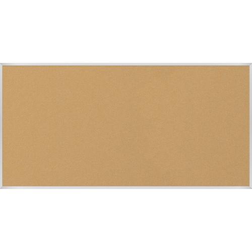 Best Rite VT Logic Natural Cork Surface Tackboard with Aluminum Trim (4 x 8')