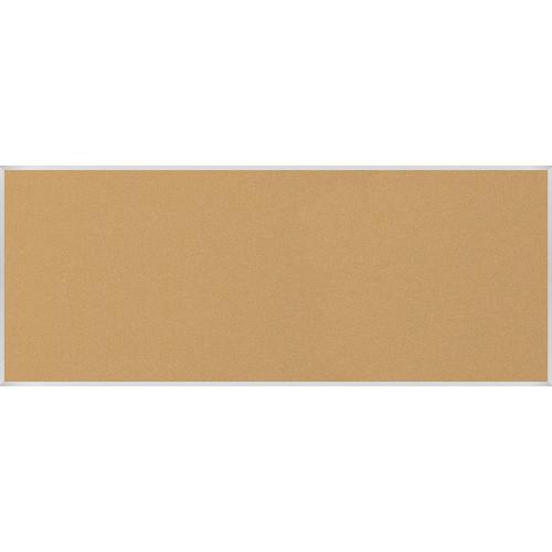 Best Rite VT Logic Natural Cork Surface Tackboard with Aluminum Trim (4 x 10')