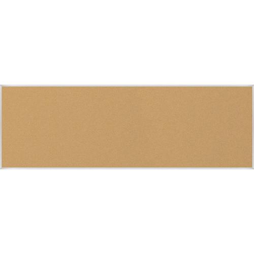 Best Rite VT Logic Natural Cork Surface Tackboard with Aluminum Trim (4 x 12')