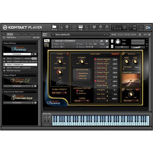 Best Service Galaxy II Steinway - Virtual Instrument (Download)