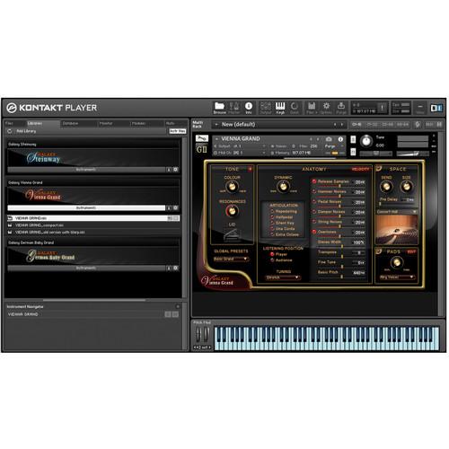 Best Service Galaxy II Vienna Grand Piano - Virtual Instrument (Download)