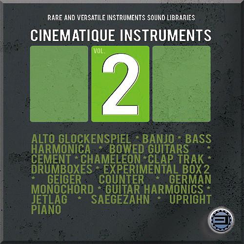 Best Service Cinematique Instruments Volume 2 - Virtual Instrument (Download)
