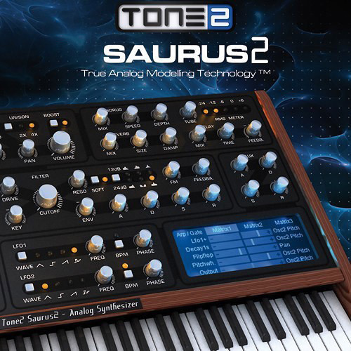 TONE2 Tone2 Saurus2 - Virtual Instrument (Download)