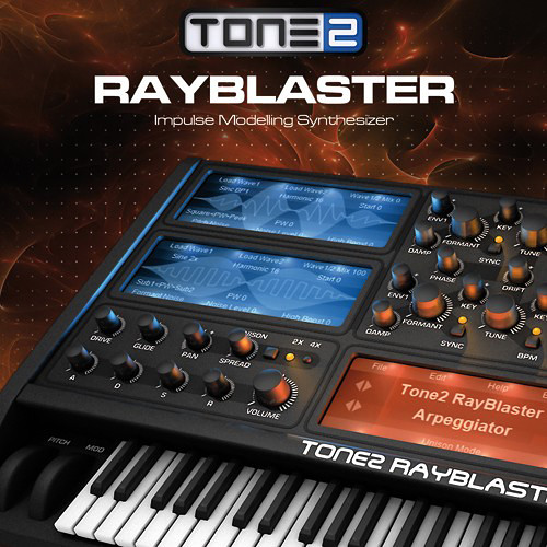 TONE2 Tone2 RayBlaster - Virtual Instrument (Download)