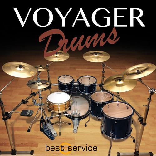 Best Service Voyager Drums - Virtual Instrument (Download)