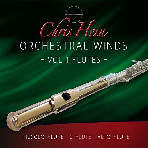 Best Service Chris Hein Orchestral Woodwinds Volume 1 - Flutes (Virtual Instrument, Download)
