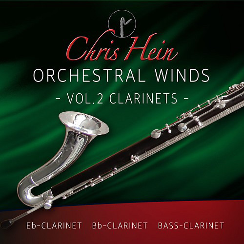 Best Service Chris Hein Orchestral Woodwinds Volume 2 - Clarinets (Virtual Instrument, Download)