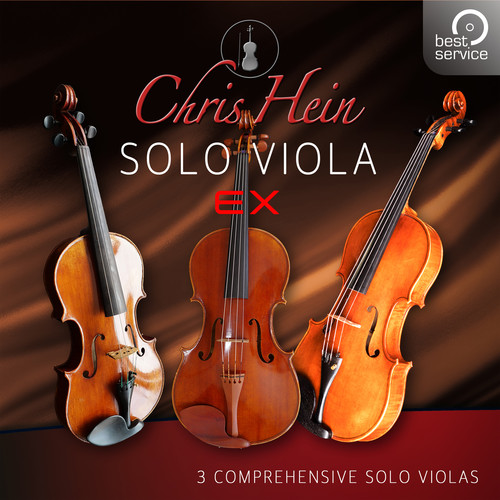 Best Service Chris Hein Solo Viola EXtended - Virtual Instrument (Download)