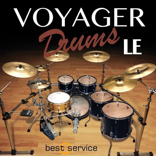 Best Service Voyager Drums LE - Virtual Instrument (Download)