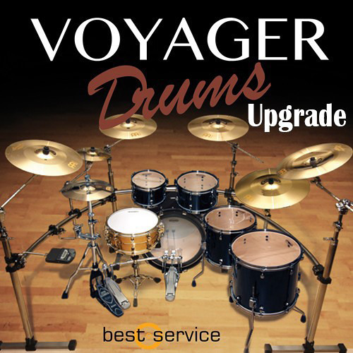 Best Service Voyager Drums Upgrade - Virtual Instrument (Download)