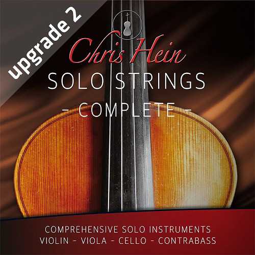 Best Service Chris Hein Solo Strings Complete EXtended Upgrade 2 - Virtual Instrument Bundle (Download)