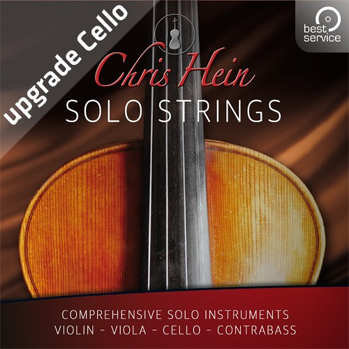 Best Service Chris Hein Solo Strings Complete EXtended Upgrade Cello - Virtual Instrument Bundle (Download)