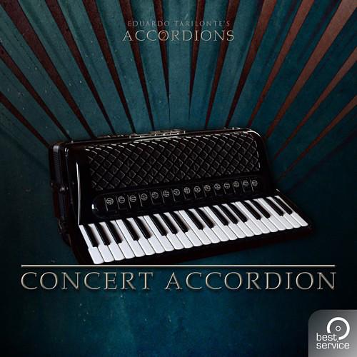 Best Service Accordions 2 - Single Concert Accordion - Virtual Instrument Plug-In (Download)