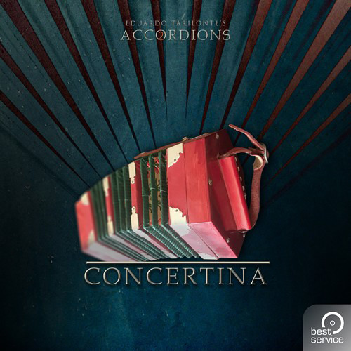 Best Service Accordions 2 - Single Concertina - Virtual Instrument Plug-In (Download)