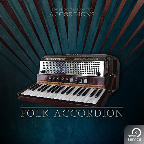 Best Service Accordions 2 - Single Folk Accordion - Virtual Instrument Plug-In (Download)