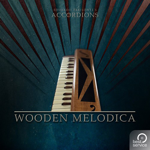 Best Service Accordions 2 - Single Wooden Melodica - Virtual Instrument Plug-In (Download)