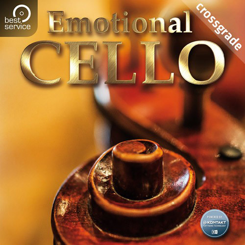 Best Service Emotional Cello Crossgrade - Virtual Instrument (Download)
