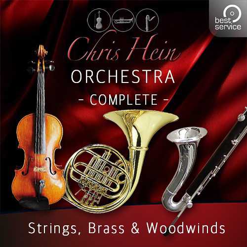 Best Service Chris Hein Orchestra Complete Orchestral Sample Library & Virtual Instrument (Download)
