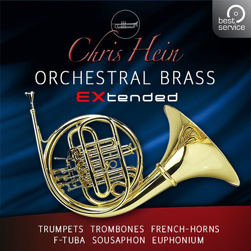 Best Service Chris Hein Orchestral Brass EXtended - Virtual instrument for Composers & Sound Designers (Upgrade from Brass Compact, Download)