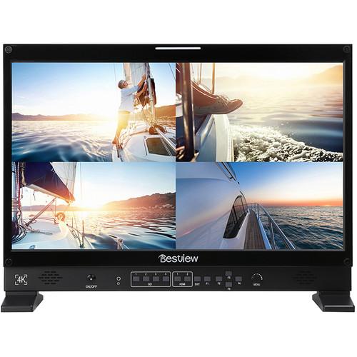 Bestview 4K UHD LED Quad Split View Broadcast Monitor