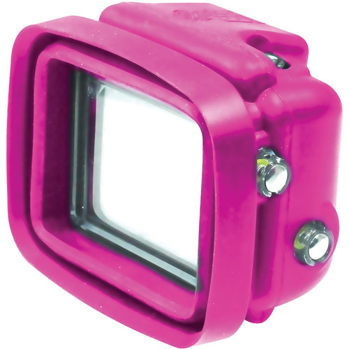 Big Balance My Shade S1 Collapsible Silicone Monitor Shade for GoPro HERO4 Black / 3+ / 3 with Dive Housing and LCD BacPac Backdoor (Pink)