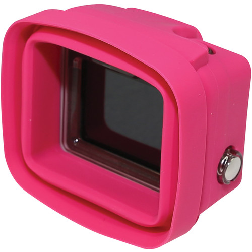 Big Balance My Shade S2 Collapsible Silicone Monitor Shade for GoPro HERO4 Silver with Standard Housing (Pink)