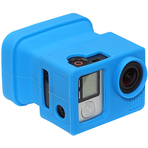 Big Balance My Shade S5 Collapsible Silicone Monitor Shade for GoPro HERO4 Black / 3+ / 3 and LCD BacPac Backdoor (Blue)
