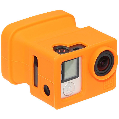 Big Balance My Shade S5 Collapsible Silicone Monitor Shade for GoPro HERO4 Black / 3+ / 3 and LCD BacPac Backdoor (Orange)