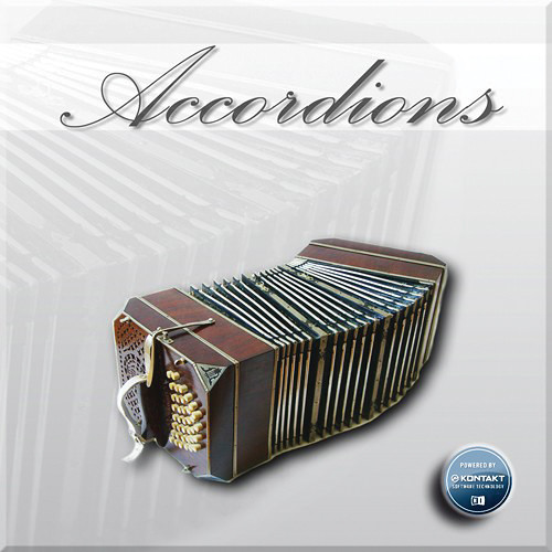 Big Fish Audio Accordions - Virtual Instrument with Kontakt Player 5 (Download)