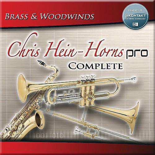 Big Fish Audio Chris Hein Horns Complete with Kontakt 5 Player (Download)