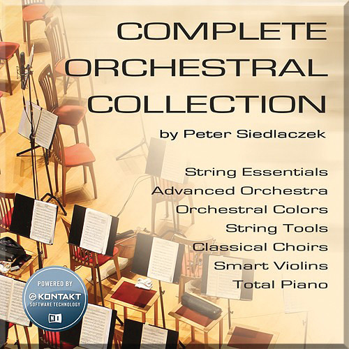 Big Fish Audio Complete Orchestral Collection with Kontakt Player 5 (Download)