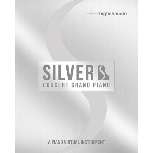 Big Fish Audio Silver: Concert Grand Piano - Virtual Instrument with UVI Player (Download)