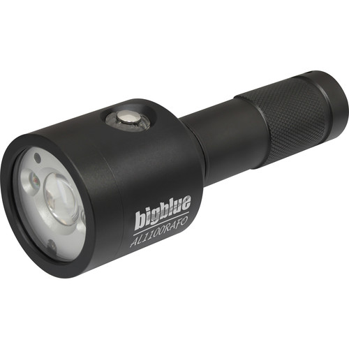 Bigblue AL1100RAFO Video LED Dive Light (Black)