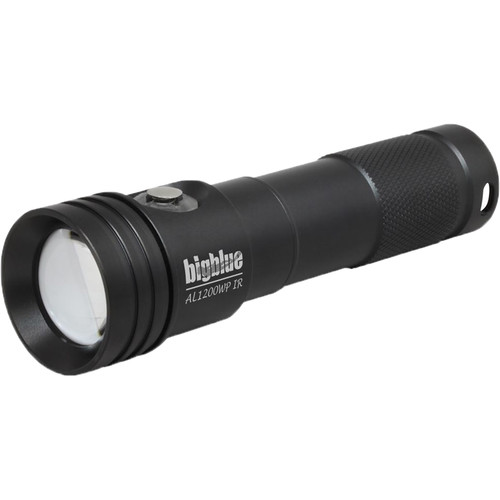 Bigblue AL1200WP-IR Infrared Wide-Beam Rechargeable Dive Light