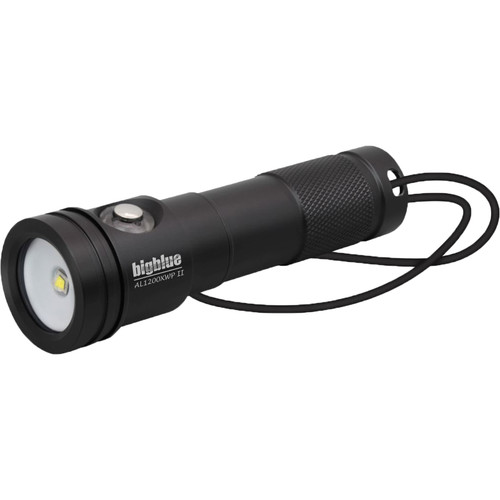 Bigblue AL1200XWP-II Extra-Wide Beam LED Dive Light with Side Switch