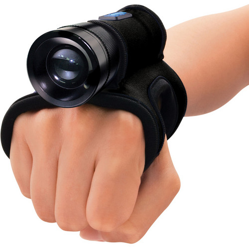 Bigblue AL1X5MG LED Dive Light with Neoprene Glove (Black)