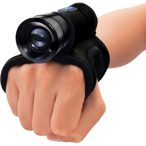 Bigblue AL1X5MG LED Dive Light with Neoprene Glove (Black)