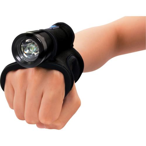 Bigblue AL250MG LED Dive Light with Neoprene Glove (Black)