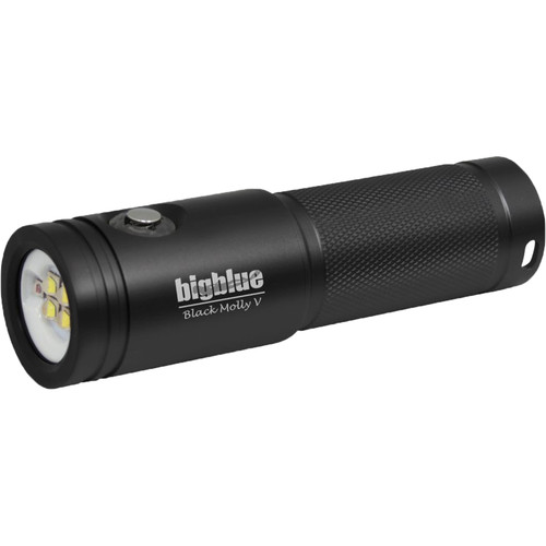 Bigblue Black Molly 5 Dive Light (Black)