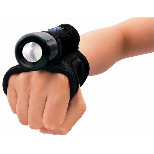 Bigblue AL450N LED Dive Light with Goodman Glove (Black)