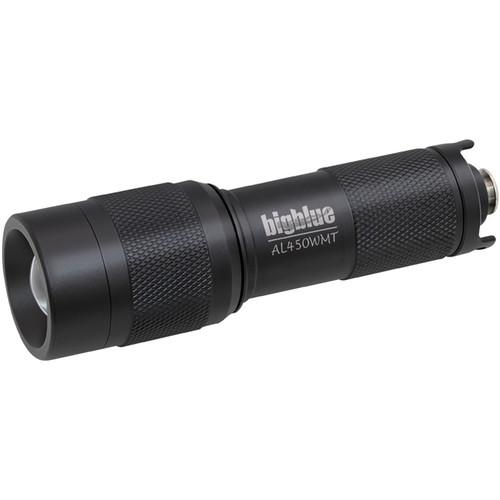 Bigblue AL450WMT Mini LED Dive Light with Wide Beam (Black)