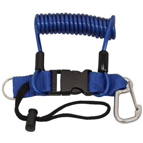 Bigblue Spring-Design Light Cord (Blue)