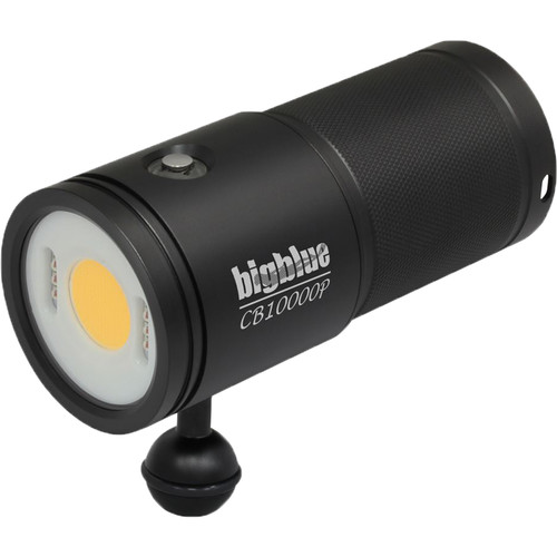 Bigblue CB15000P Warm White Video Dive Light with Remote Control